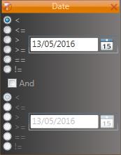 Wpf GridControl DateMultiFilter