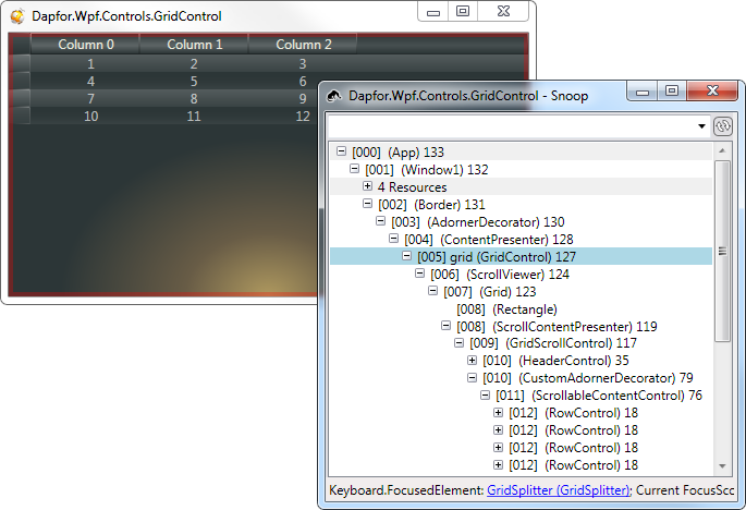 Wpf Grid tutorial (Part4: Virtualization)